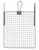 Metall Abstreifgitter 26x30 cm - Metall