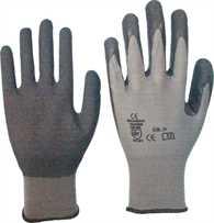 Stretch Nylonhandschuhe mit Latex Beschichtung Gr.10 Gr.10